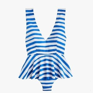 MARYSIA FOR JCREW GRAMERCY SKIRTED MAILLOT ONE-PIE